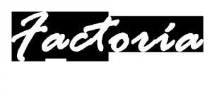 Logo Factoría Destako blanco