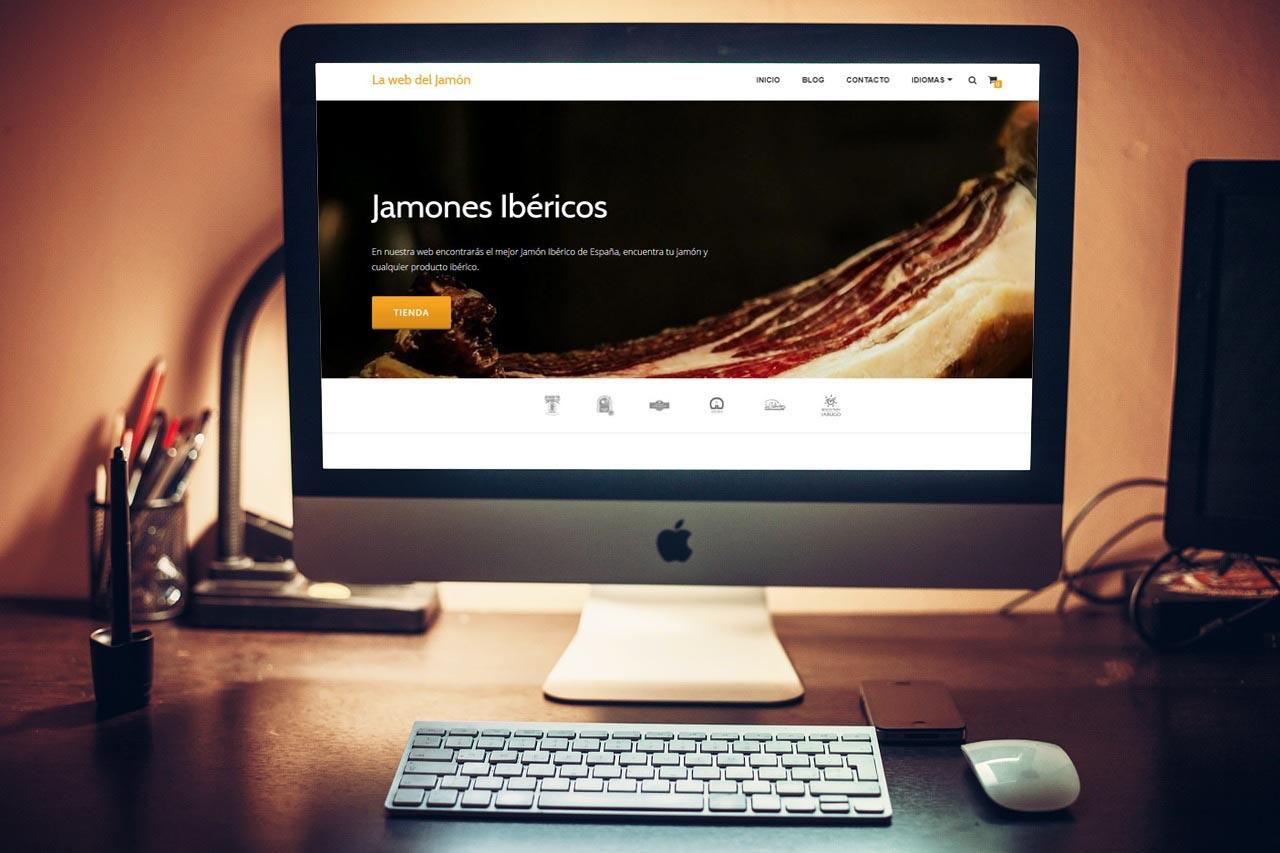 La web del jamon